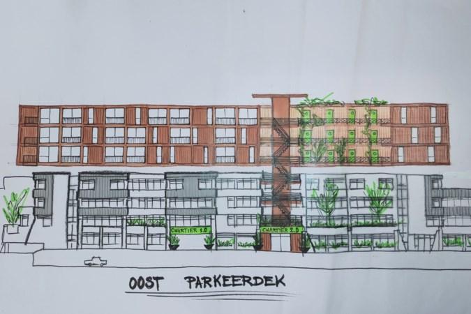 Weerter plan: drie etages met houten woningen bovenop voormalig stadhuis