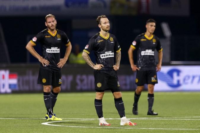 Roda JC mikt in een leeg Parkstad Limburg Stadion op sprong naar topdrie