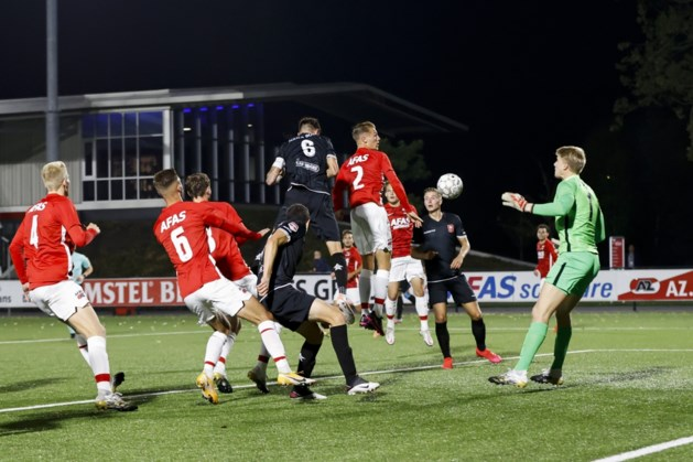 Sterke comeback levert MVV punt op na 3-1 achterstand bij Jong AZ