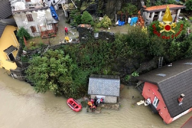 Vijf lichamen gevonden na noodweer in Noord-Italië