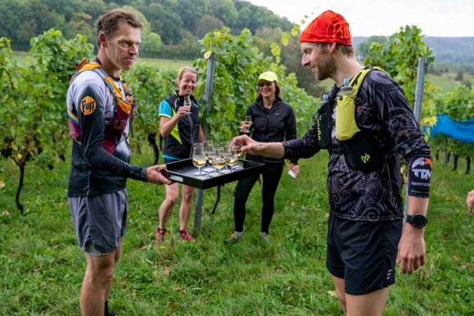 Wijnen en hardlopen combineren in Zuid-Limburg: 'Straks nog voldoende om te proeven'