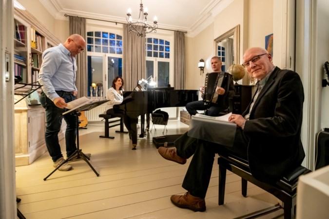Filosoferen in woorden en klanken; dichter Jacques Smeets uit Elsloo samen met L3 op podium in Eijsden