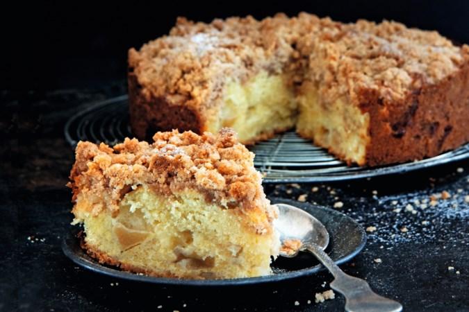 Herfstvakantie: bakken maar, bijvoorbeeld de allemansfavoriet appel-kruimelcake