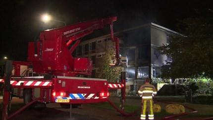 Video: Brand in leegstaand gebouw Geleen
