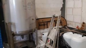 Politie treft drugslab aan in loods in Holtum