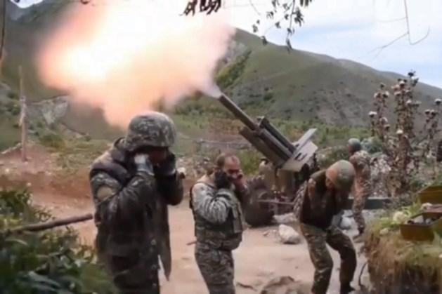 Staakt-het-vuren tussen Azerbeidzjan en Armenië