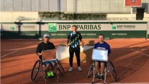 Rolstoeltennisser Sam Schröder wint dubbeltoernooi op Roland Garros