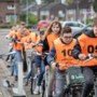 Foto van de week: leerlingen van Meander in Reuver doen verkeersexamen