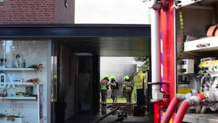 Video: Brand in aanbouw bij woning in Beringe