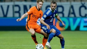 Oranje stelt ook teleur in tweede interland onder De Boer