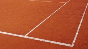 Tenniswedstrijd Kimbria-Laren afgebroken
