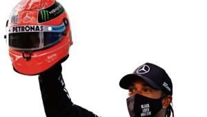 Een F1-podium met ieder zijn verhaal: man van de records, popelende kroonprins en de eeuwige glimlach