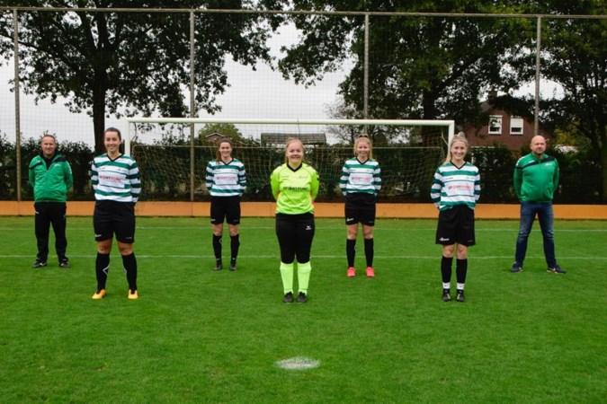 Isa Brangers heeft een neusje voor de goal bij Eindse 'Girls'