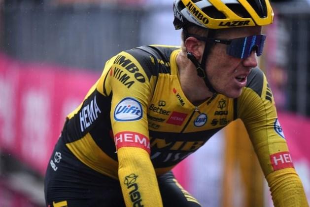 Drama in Giro: verbijsterde Kruijswijk naar huis na positieve coronatest