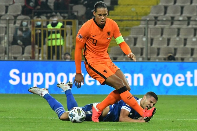 Rapport van Oranje na Bosnië - Nederland: 5,3