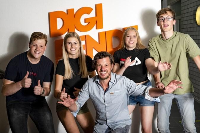 Filemon Wesselink over uitdijende Digibende in Kelpen-Oler: 'Ze hebben geen idee hoe geniaal ze bezig zijn'