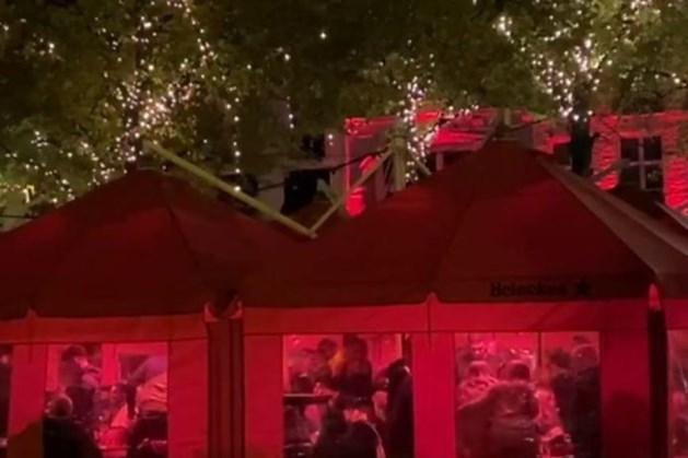 Haagse feestvierders lappen regels massaal aan hun laars bij aftellen naar sluiting: 'Volstrekt onverantwoord'