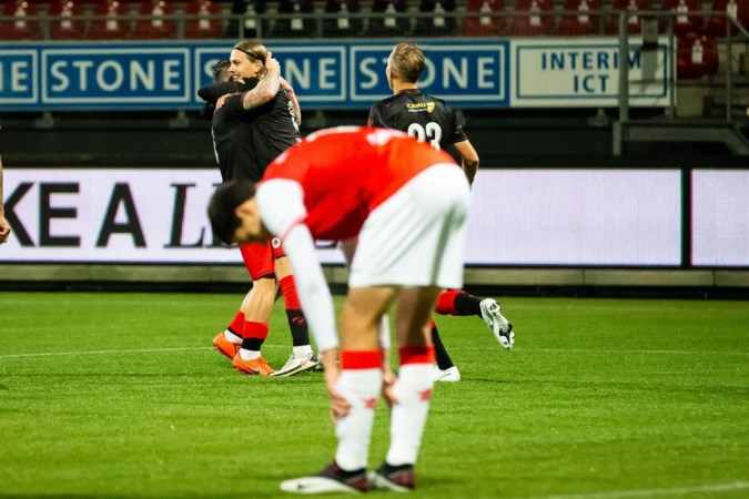 MVV geeft wedstrijd in drie minuten weg tegen Excelsior