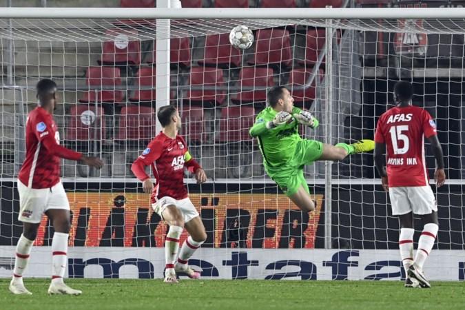 Giakoumakis schenkt VVV in slotfase nog punt tegen AZ: 2-2