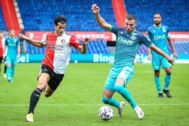 Feyenoord blijft thuis tegen Sparta steken op gelijkspel