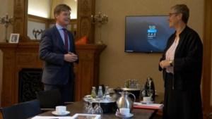 Heerlen en Aken verstevigen relatie met kennismakingsgesprek tussen nieuwe burgemeesters