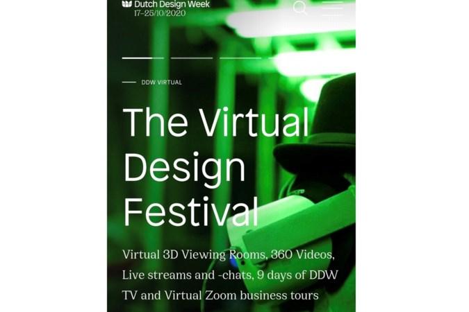 Digitaal genieten van de Dutch Design Week in Eindhoven