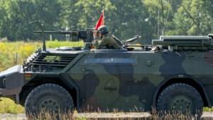 Militaire oefening rond Weert en in de Peel