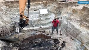 Video: Archeologen leggen bakstenen kelder van middeleeuwse hoeve bloot