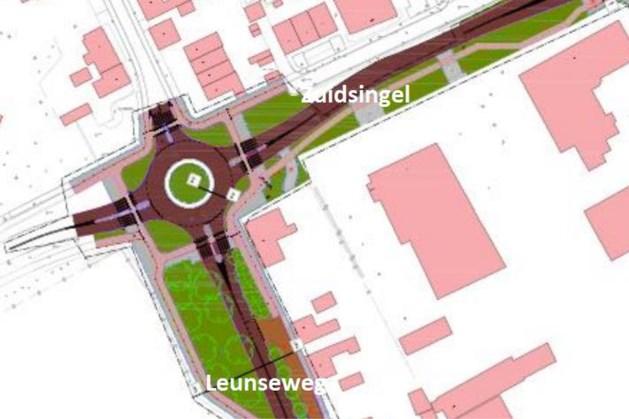 Venray pakt rotonde Zuidsingel/Leunseweg aan