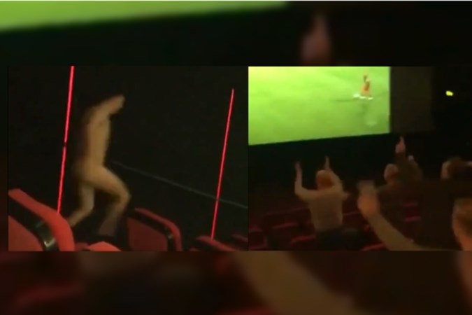 Streaker en gejoel in bioscoop: Pathé weigert wedstrijden van MVV nog uit te zenden