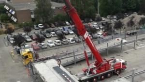 Amsterdamse parkeergarage ontmanteld en in Kerkrade weer opgebouwd