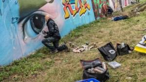 Kunstenaars openen gigantische 'Wall of Fame' in Geleen, ruim 500 meter muur vol graffiti-kunst