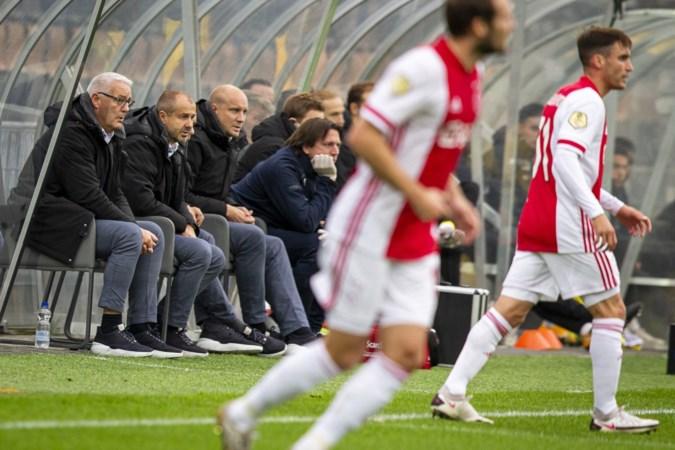 Stan Valckx na drama tegen Ajax: 'Er sneuvelt geen trainer bij VVV'