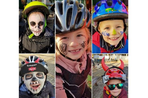 Verkleed fietsen tussen de rook en special effects op wielerbaan Geleen met Halloween