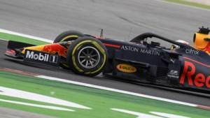 Verstappen ruim achter Mercedes naar podium in Portugal