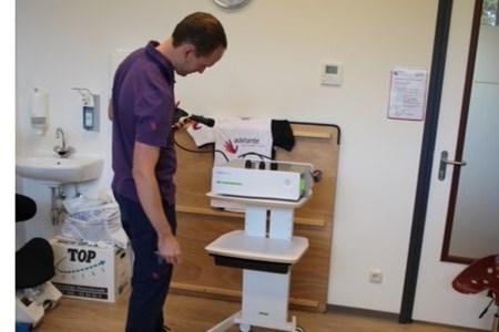 Adelante onderzoekt effect shockwavetherapie bij mensen met een dwarslaesie en spasticiteit
