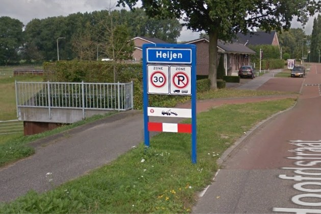 Gemeente Gennep plaatst welkomstbord op ongelukkige plek: dorpsvereniging Heijen op achterste poten
