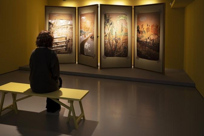 Textielmuseum zet twintig jaar design van Tegels maedje Kiki van Eijk in de etalage