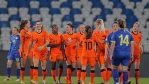 Leeuwinnen winnen ook negende kwalificatiewedstrijd: 6-0 tegen Kosovo