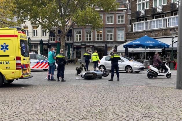 Scooterrijder raakt gewond bij ongeluk in Maastricht