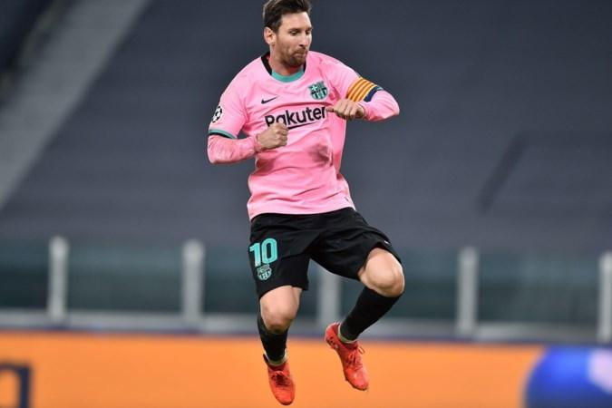 Lionel Messi heeft weer reden tot lachen