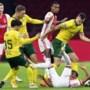 Fortuna mag dik uur dromen van stuntje tegen Ajax, maar gaat er uiteindelijk toch ruim af