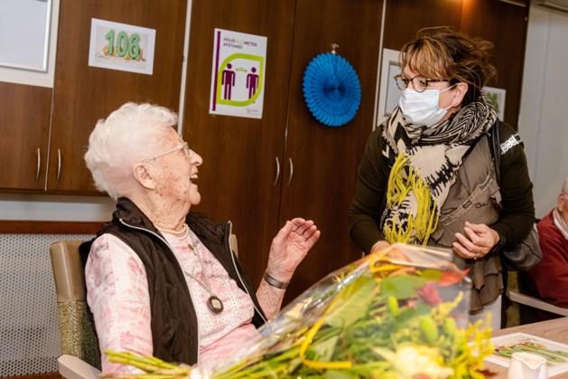 Helena Santing-Krikken (106) is oudste Limburger en woont in Brunssum