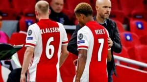 Ajax getroffen door corona-explosie: zes spelers ontbreken in selectie