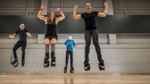 Springrage Kangoo Jumps verovert nu ook Limburg: 'Het is de ideale 1,5 metersport'