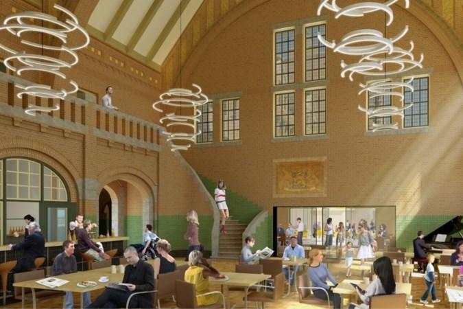 Restauratie van het grand café in station Maastricht kampt met coronavertraging