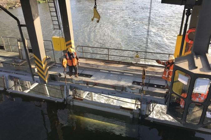 Stuw Linne hersteld: 'Laat dat hoogwater maar komen'
