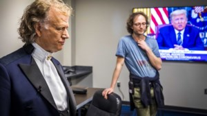 Zoon van André Rieu spreekt familie Trump aan op 'totale oorlog'