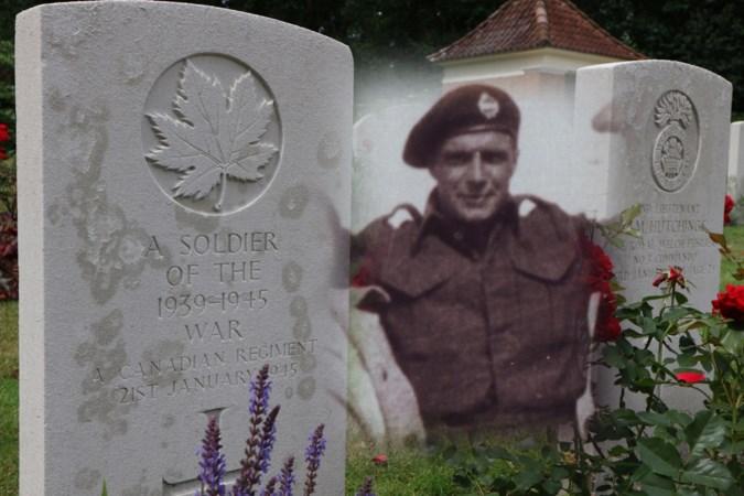Het graf van de onbekende Canadese bevrijder krijgt eindelijk een naam