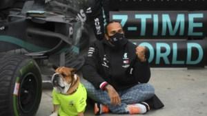 Lewis Hamilton zet kroon op werk met galavoorstelling